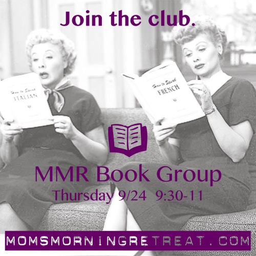 Fall book club starts 9/24 at 9:30am